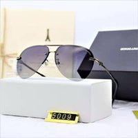 Wholesale marque sunglasses for sale - Group buy Top Quality Fashion Designer Sunglasses Metal Square Retro Men Outdoor Protection UV400 Eyewear Lunettes De Soleil Homme Luxe Marque