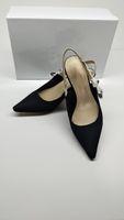 neue schuhmarken großhandel-2019 Marke Designer Damen High Heel Schuhe Spitz Luxus Schuhe Aus Echtem Leder Mode Pumpt Neue Frühling Schuhe by18122603
