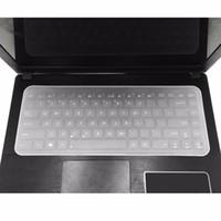 17 capa de laptop impermeável venda por atacado-Teclado de Laptop à prova d 'água película protetora 15 tampa do teclado do laptop 14 15.6 17 capa do notebook à prova de poeira filme de silicone