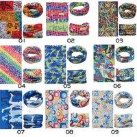 sport-haarbandanas groihandel-Nahtloser magischer Schal-Multifunktionssonnencreme-Haarband im Freiensport-Turban, der nahtlose Bandanas gelegentliche Farbe radfährt, senden