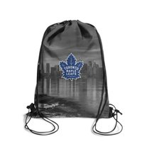 Wholesale photo edition for sale - Group buy Toronto Maple Leafs bule new york city Fashion Sports Belt Backpack Design Limited edition Suitable For School ice hockey photo white