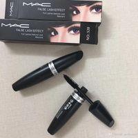 Wholesale black brand makeup for sale - Group buy MAC M MC Macs Brand Makeup Mascara False Lash Effect Full Lashes Natural Look Look Mascara Black Waterproof Eyes Make Up