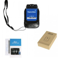Wholesale android saab obd resale online - VPECKER E4 Multi Languages Bluetooth OBD Automotive Scanner inch Windows Vpecker Tablet ODB Scanner For Android Phone