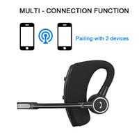 araba için mikrofon toptan satış-V8 V8S Bluetooth Kulaklık V4.1 Handsfree Mikrofon Ile Kablosuz Kulaklık Akıllı Telefon Için Bluetooth Kulaklık Xiaomi Samsung araba Bluetooth Earp