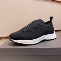herren-basketball-schuhe groihandel-Turnschuhe Herren-Schuhe Laufschuhe Basketball unisex Trainer Knit Mesh-Neopren-Sneakers Mode Herren Slip-on-Trainer