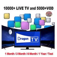ingrosso scatole google tv-Test di sottoscrizione mondo Supporto Dragon per box iOS Android Smart TV Mag M3U Europa Francia Regno Unito Stati Uniti Canada Italia Paesi Bassi