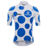 Wholesale cycling clothing spain for sale - Group buy Men TOUR DE SPAIN team bike jersey cycling clothing summer breathable quick dry short sleeve road bicycle uniform Sportswear Y07170517