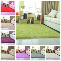 Wholesale Fluffy Bedroom Rugs Online   16 Colors Rugs For Home Living Room  Bedroom Mats Home