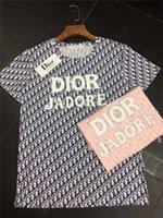 kakmalı gömlek toptan satış-Kadınlar Tasarımcı T Shirt Yaz Marka Mektuplar Baskı Kristal Kakma Ile Lady Için Lüks T Shirt Moda Tasarımcı Tees Tops