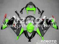 özel motosiklet gövdesi kitleri toptan satış-Yeni Motosiklet Enjeksiyon Abs Fairing Kiti kawasaki EX300 için Fit 2013-2017 Ninja300 13 14 15 16 17 EX300 Vücut set özel beyaz yeşil kırmızı