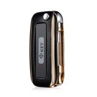 Wholesale Authentic H Key Leather H Key Box Mod Cartridge Vape Built mah Battery Mods Variable Voltage Preheat Function For Oil Cartridge