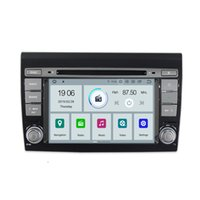 Wholesale video systems for cars for sale - COIKA Android System Quad Core Car DVD Player For Fiat Bravo GPS Navi Radio OBD DVR Mirror Screen Phone Link SWC G RAM