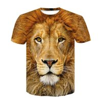 lion king 3d shirt 2021 - lion king t shirt the lion king tshirt women 2019 new movie lion king characters 3d printed T-shirt child Ypf273