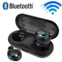 ingrosso set di telefoni di moda-headset wireless auricolari del telefono mobile HBQ Q18 TWS MINI con il set di ricarica microfono della cuffia Bluetooth di riduzione del rumore