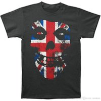sindicato de vendas venda por atacado-2018 novos homens de verão venda quente moda misfits homens union jack t-shirt tamanho s para 3xlsummer mangas curtas t-shirt de algodão