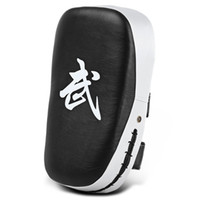 Wholesale taekwondo training targets resale online - Lightweight PU Leather Square Punching Bag Sparring MMA Karate Muay Thai Boxing Pad Fitness Taekwondo Training Gear Foot Target