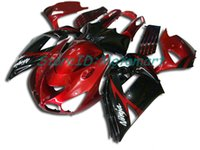 kawasaki ninja zx14r venda por atacado-Corpo para KAWASAKI NINJA ZZR1400 14 R ZX14R 06 07 ZXR 1400 ZX-14R ZX 14R 2006 2007 Carenagem ZX14R004