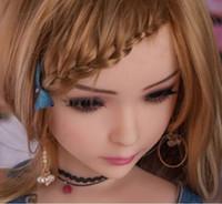 asiatischen spielzeug sex großhandel-Asian Female lifesize silikon TPE Erwachsene mini liebespuppe für Männer 100 cm geschlechtsspielzeug (MiXI)