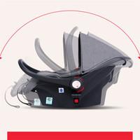 kinderwagen sonnenschirme großhandel-Vier Räder Kinderwagen Kinderwagen Kinderwagen Tragbare Baby Schlafkorb Sicherheit Autositz Tasche Regenschirm Wagen Pam