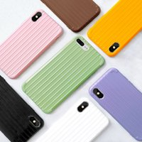 ingrosso iphone casi puro-Per custodia iphone xr xs max x 8 7 6 plus cover cover TPU soft slim candy colori puri con design di moda nuovo