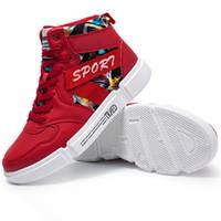 34bc448879bea Tenues de mode Pause Bottines Skate Baskets 30% Simili Cuir Casual  Chaussures Hommes Mode Chaussures Corée PVC Summer Skater Chaussures