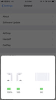 ohr stereo kopfhörer samsung großhandel-Neue W1 H1 CHIP Animation Kopfhörer Luft Kopfhörer Hülsen Stereo Ohrhörer Ohr für iphone xs max 8 Android Phone casque Bluetooth Kopfhörer Knospen