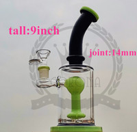 Wholesale honey comb 12 bong resale online - Straight Tube glass honeycomb Perc tornado bongs Water Pipe glass pipes bongs water pipe inches mm titanium nails bong honey comb