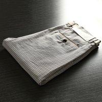 queue de ciseaux achat en gros de-Pantalons pour hommes avec des pantalons minces