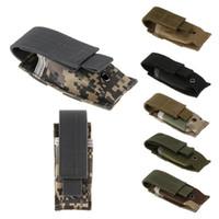 ausrüstung für militär großhandel-Militärische Molle Tasche taktische Taschenlampe Tasche Armee Fan Ausrüstung kleine Tasche Schere Tasche Outdoor Hüfttaschen ZZA888