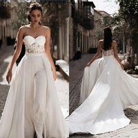 Wholesale mothers bridal dresses resale online - Elegant Wedding Dresses with Jacket Beading Sequins Wedding Bridal Gowns Ankle Length Plus Size Mothers Dress