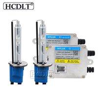 Wholesale xenon hid conversion kit 35w for sale - Group buy HCDLT W Fast Start Xenon HID Conversion Kit Hylux A2088 Slim Ballast Reactor K Car Light H1 H7 H11 HB3 HB4 D2H Xenon Lamp