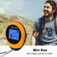 Wholesale gps phone gprs for sale - Group buy Handheld Mini GPS Navigation Mini GPS Real Time Keychain PG03 GPRS USB Rechargeable Compass For Outdoor Sport Travel Hiking