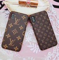 ingrosso copertine posteriori per cellulari-Per IPhone X XS Max Custodia rigida per il design di moda Caso di telefonia mobile per iPhone Xr 8 7 6s Custodia per cellulare di alta qualità Vogue