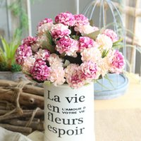 Wholesale flower balls wedding decorations for sale - Group buy Simulation ball Chrysanthemum Small bunch DIY Wedding Bridal Bouquet Home Furnishing Table Decoration Fake Flower birthday gift