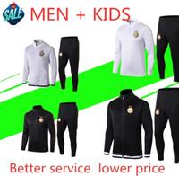ropa deportiva para adultos al por mayor-2019 2020 Argelia Adultos y mahrez chándal de fútbol 19 20 BOUNEDJAH Survetement maillot de ropa deportiva niños pie de entrenamiento de fútbol traje