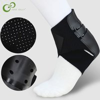 ремешок носки оптовых-1Pc Ankle Brace Support Sports Adjustable Ankle Straps Foot Stabilizer Orthosis Football Compression Socks Protector GYH