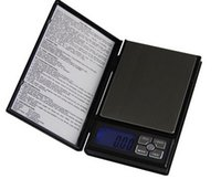 Wholesale electronics personal resale online - Notebook Style Medical Electronic Scale Counting Gold LCD Jewelry Scales Personal Scale Precision Balance g g