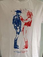 neue punkkleidung großhandel-SEX PISTOLS COWBOYS SHIRT Punk-Sedimentäre Sid vicious siouxsie Adam und Ameisen Neue Markenbekleidung T Shirts 2018 Summer 100% Cotton