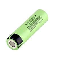 pilhas recarregáveis venda por atacado-100% Alta Quality3400mah 18650 Bateria NCR18650B Leão Lítio Recarregável Bateria Baterias Para E Cigarro Luz Do Flash Vape