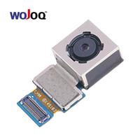 отметить модуль камеры оптовых-WOJOQ Новая задняя задняя основная камера для Samsung Note 4 N910F N910C N9100 N910V N910A Задняя задняя большая камера Модуль Flex