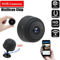 Wholesale super wifi camera for sale - Group buy A9 Mini sport camera P HD Wireless WIFI Camera Night Vision Super Wide Angle Hidden Micro Camera Monitor