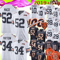 ours de football maillot achat en gros de-52 Maillot Khalil Mack Chicago Bears 34 Walter Payton 10 Mitchell Trubisky 29 Tarik Cohen 89 Mike Ditka 58 Maillots Roquan Smith 2019 100e