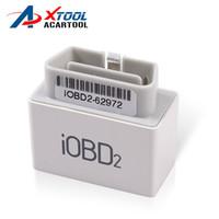 iobd2 xtool großhandel-XTOOL iOBD2 Bluetooth OBD2 / EOBD Selbstscanner-Mühe-Codeleser für iPhone / Android-Träger-Diagnosewerkzeug-freies Verschiffen