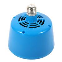 Wholesale pet heat lamp bulb resale online - E27 Heat Warm Led Lamp Bulb v Poultry Piglets Chicken Pet Keep Warming Light Blue Q190611
