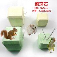 würfel haustiere großhandel-Cube Block Pets Hamster Ein Molarzahnstein Totoro Eichhörnchen Kaninchen Papagei Erhöhen Sie Kalzium Ein Molarzahnstein
