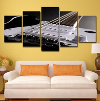 Wholesale canvas musical art for sale - Group buy HD Printed Piece canvas Art Guitar Paintings Musical Instruments Wall Pictures For Living Room