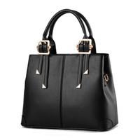 yeni moda çanta kore tarzı toptan satış-Kadınlar Çanta Tasarımcısı Yeni Moda Casual kadın çantası lüks omuz çantası yüksek kaliteli PU Marka 2019 Kore Style büyük kapasite