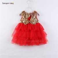 Wholesale gowns style clothes for sale - kids designer clothes girls wear one sent hot style spot princess dress dress baby baby baby princess dress