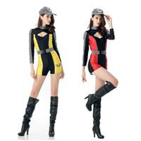 ingrosso cheerleader sexy del costume della donna-Uniforme da corsa per donna sportiva da ragazza cheerleader in costume da corsa