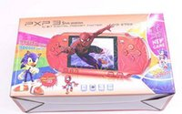 Wholesale 16 bit tv video games resale online - PXP3 Handheld TV Video Game Console bit Mini Game PXP Pocket Game Players with retail package